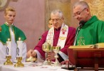 Wizytacja biskupia ks. bp. Mieczysława Cisło :: © Parafia Klesztów